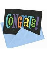 Congrats !  Congratulations Graduate Wishes Greeting Card  - $11.99