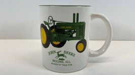 John Deere Moline, IL  Model A Tractor Coffee Mug Cup - $9.85