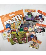 M&M Collectible Halloween Bundle 6 Masks Candy Bag Safety Lightstick Boo... - $66.75