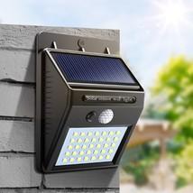 Night Light Solar Powered 35 30 20 LED Wall Lamp PIR Motion Sensor & Nig... - €12,97 EUR