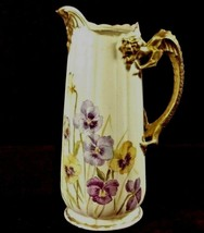 Dragon Tankard   Old Man Winter Applied Gilded Handel  RARE - $161.00