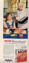 World War 2 Wilson MOR Canned Meat Ad - $13.86