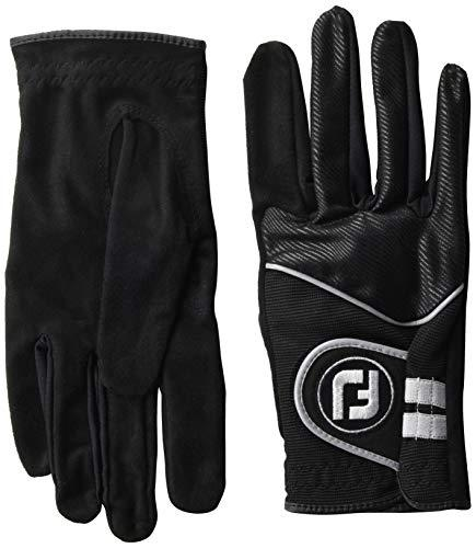 Primary image for FootJoy Men's RainGrip Pair Golf Glove Black Large, Pair