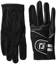 FootJoy Men's RainGrip Pair Golf Glove Black Large, Pair - $41.58