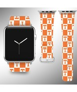 Tennessee Volunteers Apple Watch Band 38 40 42 44 mm Fabric Leather Strap 1 - $29.97