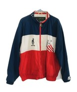 Vtg 90's Starter Sz L 1996 Atlanta Olympic Games Collection Jacket Windb... - $73.15