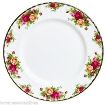 4 Royal Albert Old Country Roses Dinner Plates NEW - $112.20