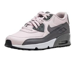 Nike Air Max 90 LTR (GS) Barely Rose Gunsmoke White Grade School 833376 601 image 3