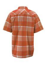Men's Short Sleeve Cowboy Button Down Casual Plaid Pattern Western Dress Shirt image 13