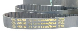 LOT OF 2 NEW GOODYEAR 450L100 TIMING BELTS 120TEETH 45INCH image 2