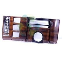 86 87 88 89 Deville Fleetwood Woodgrain Dash Instrument Trim Plate Clust... - $32.38