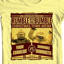 Yukon cornelius bumble t shirt christmas rudolph online t shirt store for sale yellow thumb200