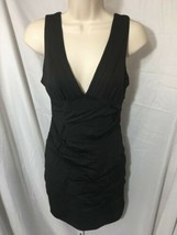 #380--  Forever 21 stretch bodyconn little black dress  M/M- - $8.60