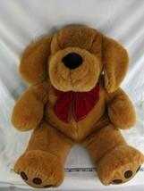 "Commonwealth Brown Dog Plush 24"" Red Christmas Tie Stuffed Animal Toy - $39.95"