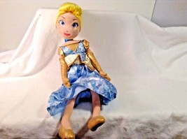 "Cinderella Cindarella Plush Doll Disney Princesses 16.5"" Tall  Stuffed A... - $10.40"