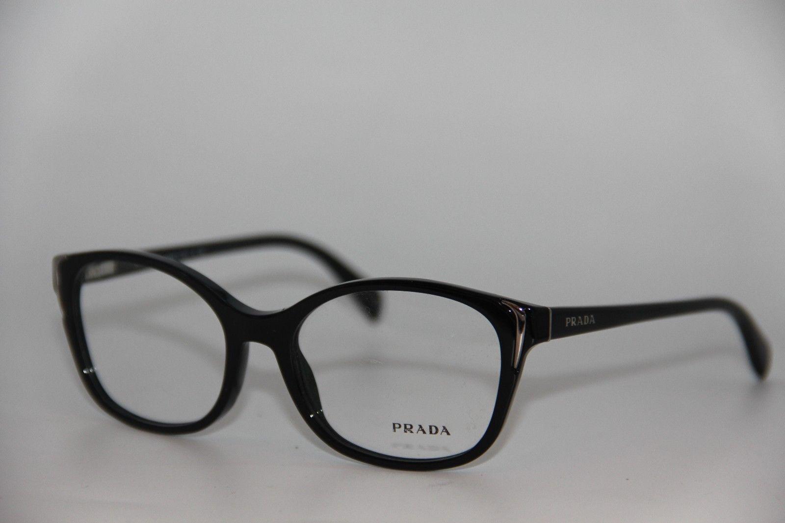 4eaac71190 New Prada Vpr 13O 1AB-1O1 Black Eyeglasses and 50 similar items