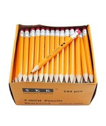 SKKSTATIONERY Half Pencils with Eraser Tops, Golf, Classroom, Pew - #2 H... - $9.86