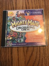 Mighty Maths Calculer Ras PC Mac Tout Neuf Scellé Win10 8 7 - $21.61