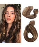Munx Hair Extensions Real Human Hair Clip in Extensions 15 inches 70g Si... - $52.99
