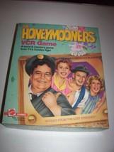 The Honeymooners VCR Game 1986 Vintage Word & Memory Game Mattel  - $8.54