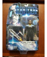 1996 Playmates Star Trek First Contact Geordi LaForge Action Figure Sealed - $14.80