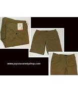 """Aeropostale Men's Board Shorts Khaki Brown Sz 38 NEW Below Knee 11.5"""" In... - $13.99"""