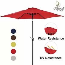 Grand Patio 9 FT Aluminum Patio Umbrella, UV Protected Outdoor Umbrella ... - £40.25 GBP