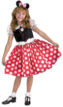 3T-4T /NWT Officially Licensed Red & White Minnie Mouse Costume by Disgu... - $32.49