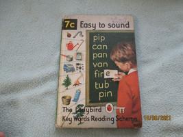 1966 Lady Bird Book Easy To Sound - $8.96