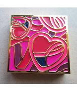 Estee Lauder Pleasures Dream Solid Perfume  COMPACT BREAST CANCER AWARENESS 2013 - £21.44 GBP