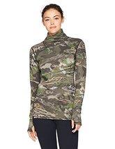 Under Armour Women's Mid Season Wool Top,Ridge Reaper Camo Fo (943)/Metallic Bei