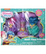 GBG BEAUTY* 3pc Set SHIMMER AND SHINE Pouf Squirters+Body Wash BATH TIME... - $16.99