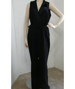 LAUREN Ralph Lauren Jumpsuit Black Sleeveless Belted NWT $298 16 - $152.99