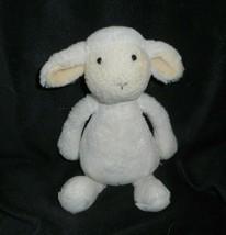 """7"""" JELLYCAT BASHFUL CREME BABY LAMB SHEEP STUFFED ANIMAL PLUSH TOY LOVEY... - $16.83"""