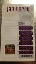 Jamberry Nail Wraps - Go MN Vikings - NFL Collection - 1/2 Sheet Rare/Retired - $17.00