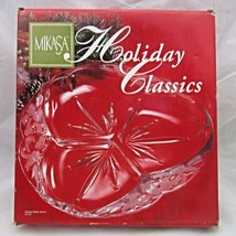 Mikasa Holiday Classics Christmas Divided Relish Server 3 Part Bells 08 ... - $12.74