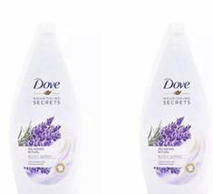2 Pk. Dove Relaxing Ritual Body Wash, Lavender Oil & Rosemary 16.9 Fl Oz... - $18.49