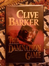 THE DAMNATION GAME - Clive Barker -first American edition - Signed - $147.00