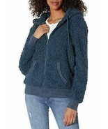 Marc New York Ladies' Cozy Full Zip Jacket Dusty Teal XS - $35.82