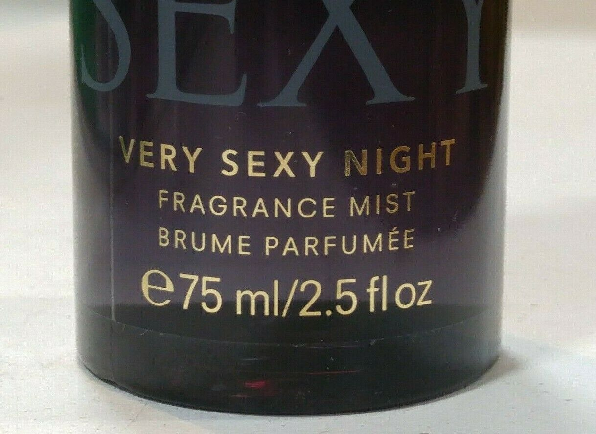 VICTORIA'S SECRET VERY SEXY NIGHT TRAVEL FRAGRANCE BODY MIST 2.5 oz / 75 ml  image 2