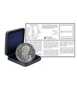 Malta 10 Euros, 28.28 g Silver Proof Coin,2014,Mint,Composer - Charles C... - $79.99