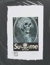 George Washington Skeleton Supreme Print by Fairchild Paris Artist Proof - $173.24