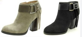 NIB Kensie Women's Massey Leather Ankle Bootie Boots - $22.99