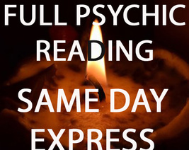 SAME DAY EXPRESS CHOOSE AN AREA  READING PSYCHIC 98 yr old Witch Cassia4... - $59.00