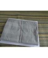 Charter Club Damask Stripe Supima Cotton 1 Standard Size Pillowcase, Smoke - $6.58