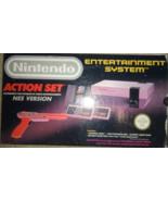 Nintendo Nes Action Set Entertainment system,Nintendo Nes Entertainment ... - $799.99