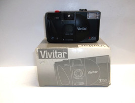 Vivitar T250 Motorized 35mm Camera with Built-in Flash - $31.18