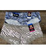 Maidenform ~ 2-Pair Womens Hipster Underwear Polyester Blend ~ XL/8 - $17.75