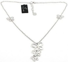 Necklace Silver 925, Family Butterflies Hanging, by Maria Ielpo , Made in Italy image 2