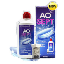 AO Sept Plus 360m/720ml hydraglyde moisture matrix Noiseless Lens Cleani... - $29.82+